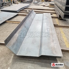 NM400耐磨板折弯加工,配套改装厂自卸车生产,冷弯成型整板折弯加工,强度高,耐磨性强。