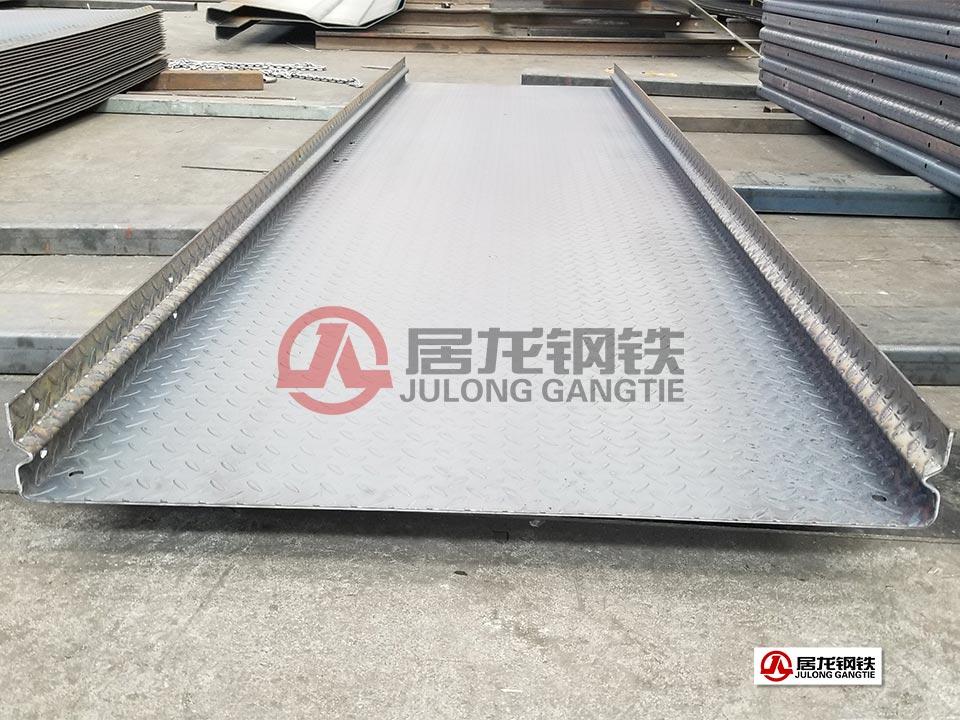 花纹板钢板伸缩缝折弯加工