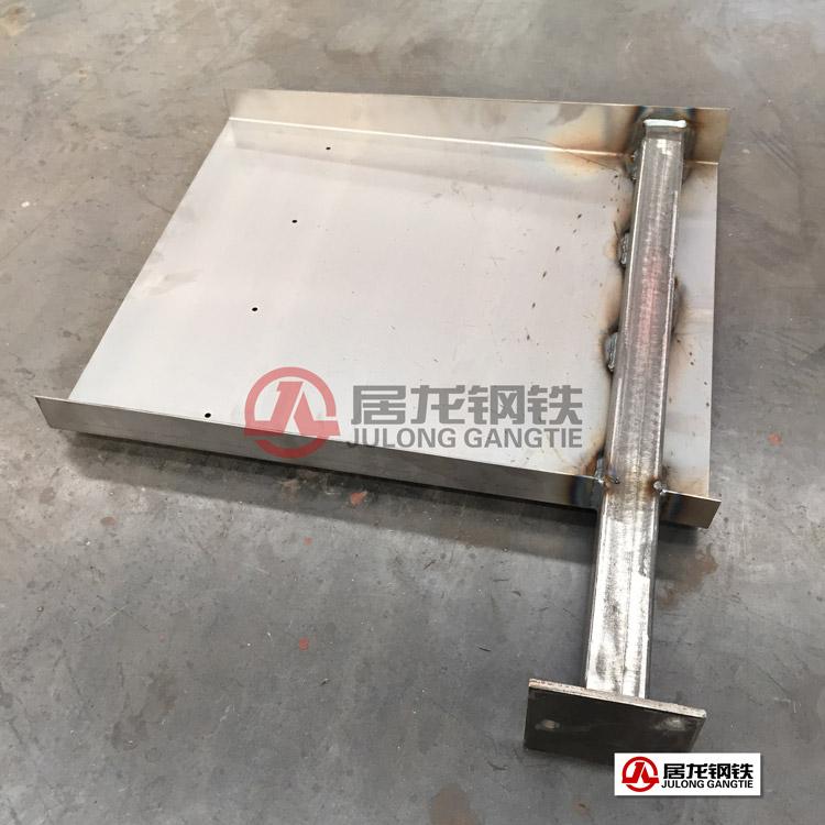 拖挂车钢制挡泥板出口加工。