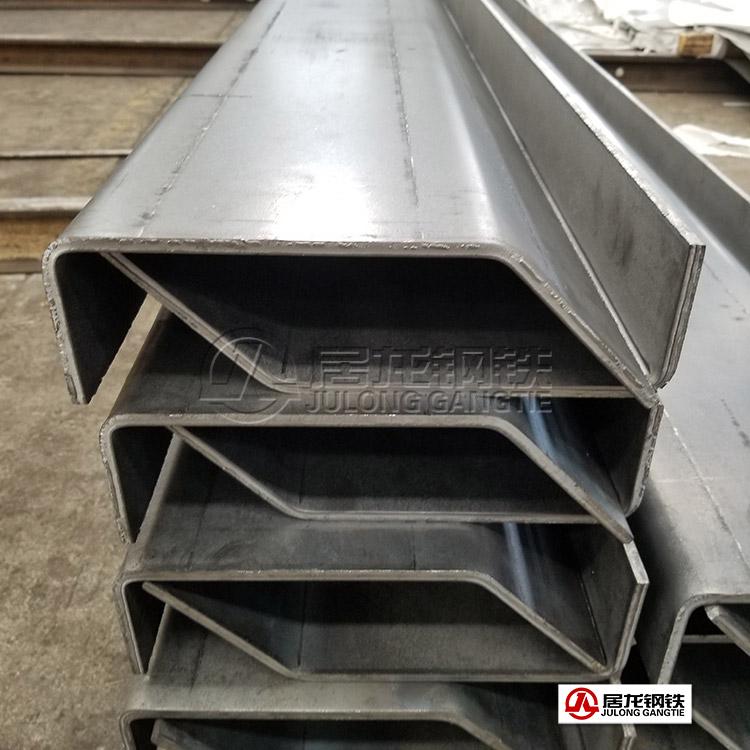 7.8米自卸车车箱上边梁高强板折弯加工